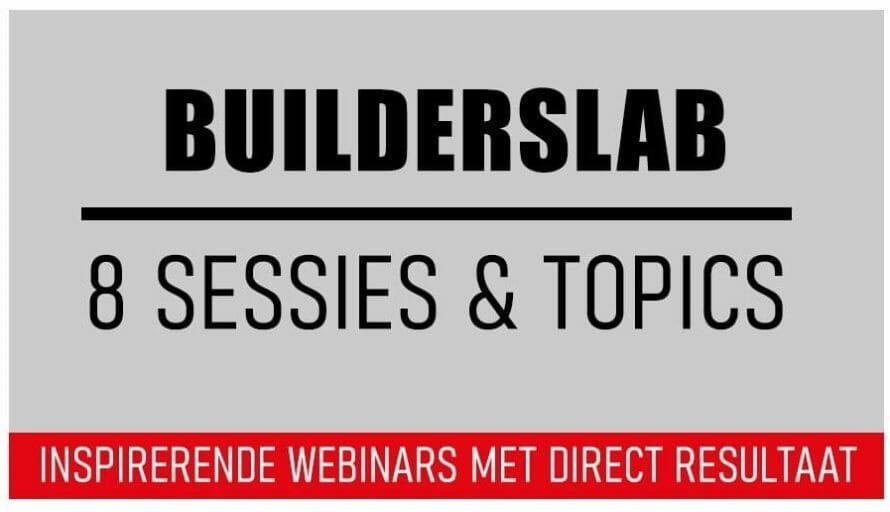 Inspirerende Webinars Online Builderslab Met Resultaat An Vermeulen En Yarlini Coaching